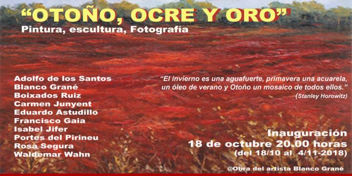 Exposició Otoño, Ocre y Oro